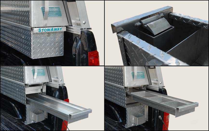 Stowaway Drawers Construction Details System One