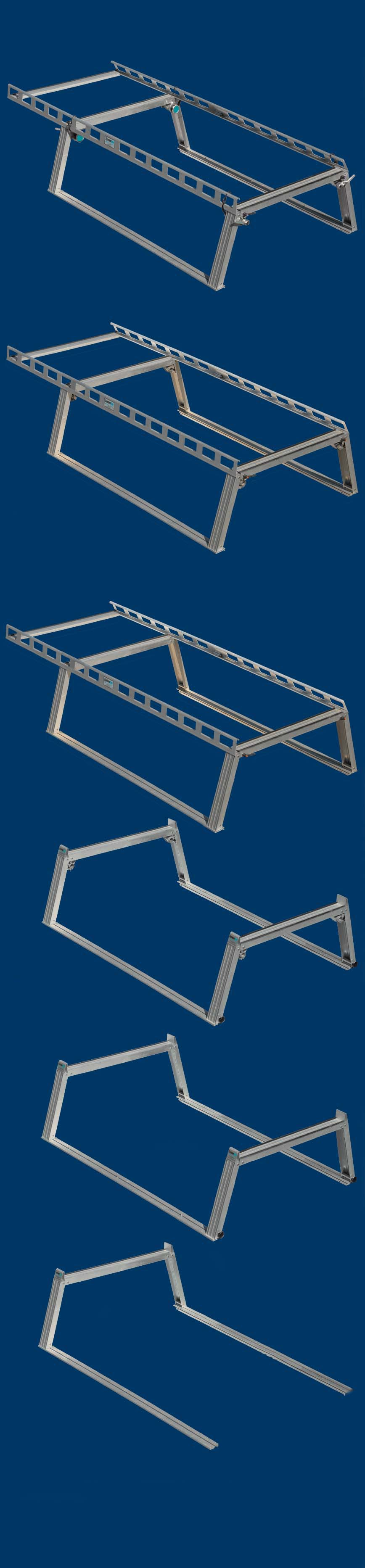 Pick up truck ladder rack overview